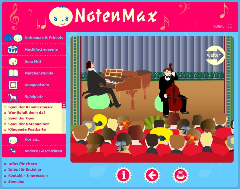 Online-Spiele zum Thema Musik für Kinder