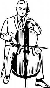 Cello spielen