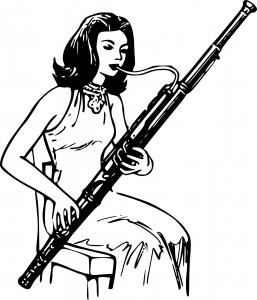 Fagott spielen