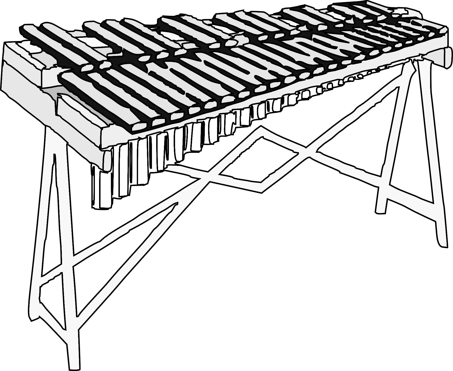 xylophon zeichnung musik f r kinder. Black Bedroom Furniture Sets. Home Design Ideas