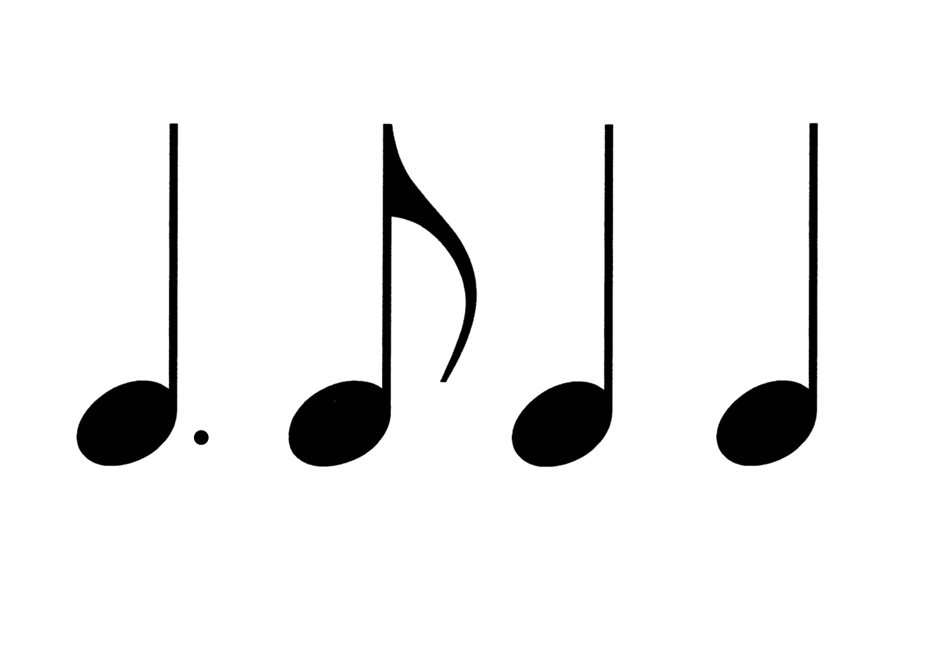 20 Rhythmusbausteine zum Ausdrucken - Musik für Kinder