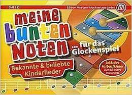 Bunte Noten Sonor Glockenspiel