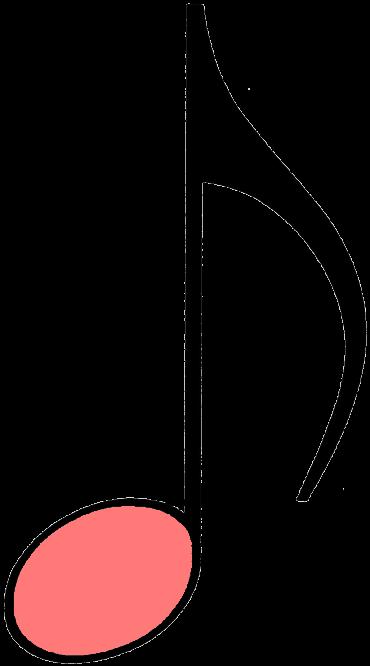 rosa achtelnote