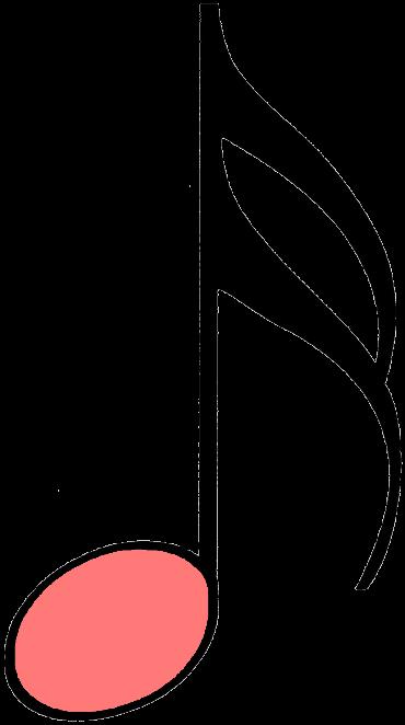 sechzehntelnote rosa
