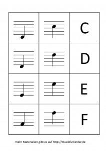 Notenmemory 1