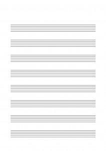 Notenpapier