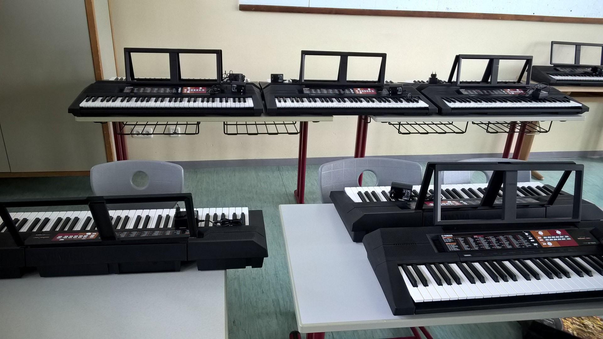 Keyboardklasse!